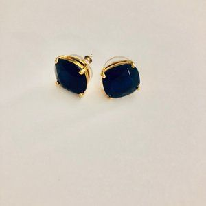 kate spade earrings - stunning blue!!